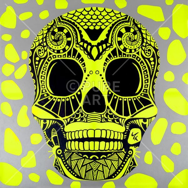 SKULL-gelb